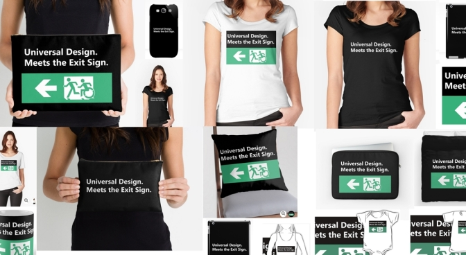 Universal Design Meets the Exit Sign Merchandise Header