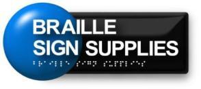 Braille Sign Supplies Logo